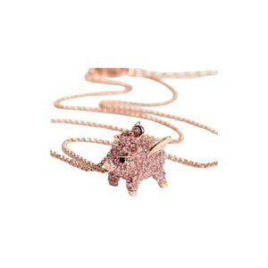 Kate Spade Imagination Pave Pig Necklace